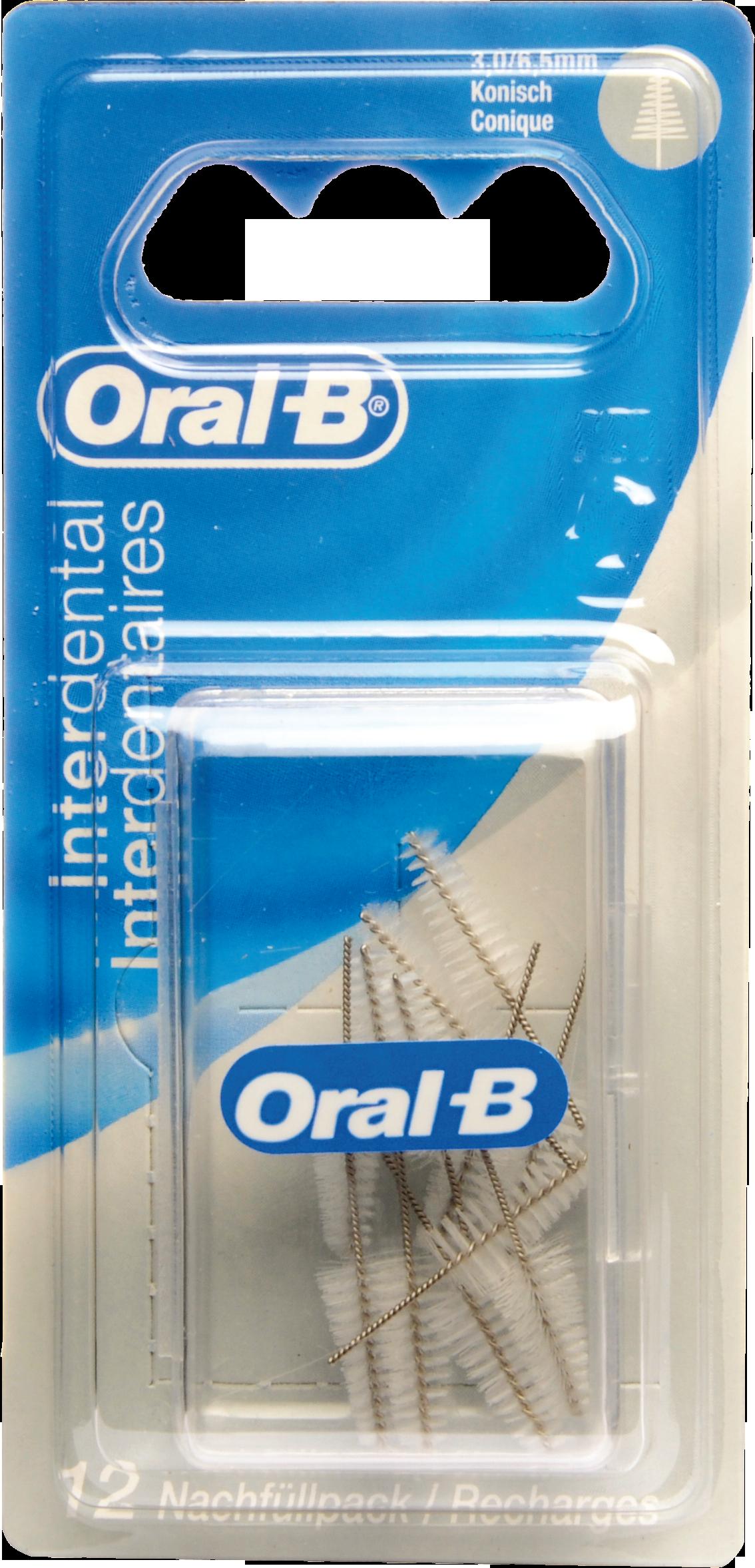 Oral-B ID Nachfüllpack Konisch Fein 3-6.5mm