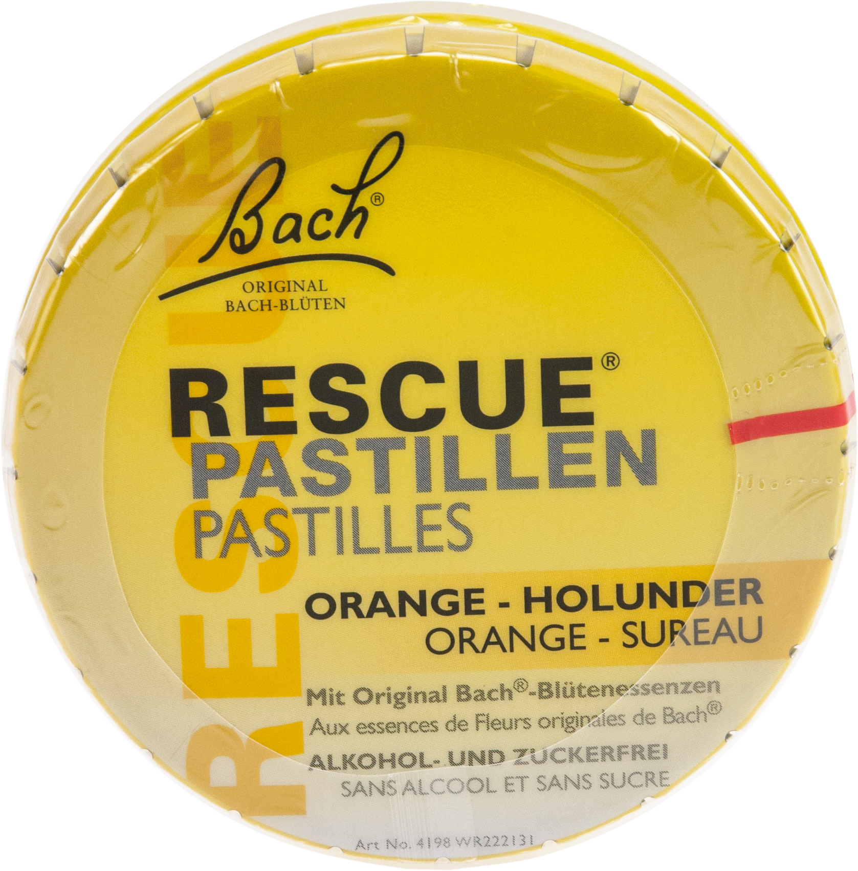 Bach Original Rescue Pastillen Orange-Holunder
