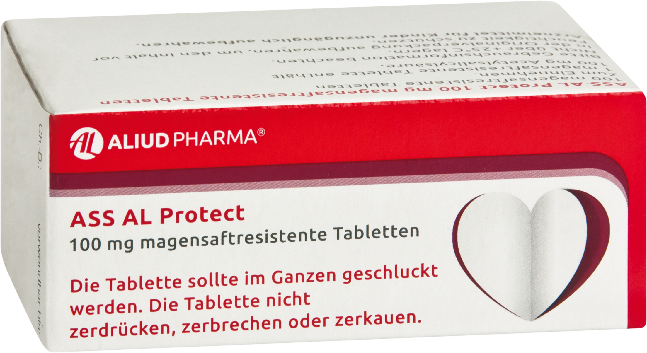 ASS AL Protect 100mg magensaftresistente Tabletten