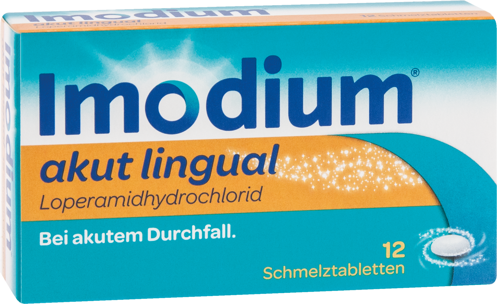 Imodium akut lingual