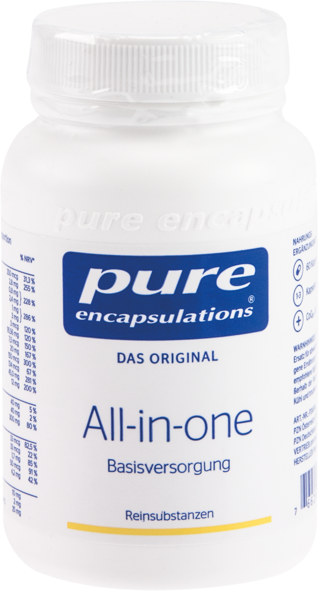 PURE ENCAPSULATIONS ALL-IN-ONE Pure 365