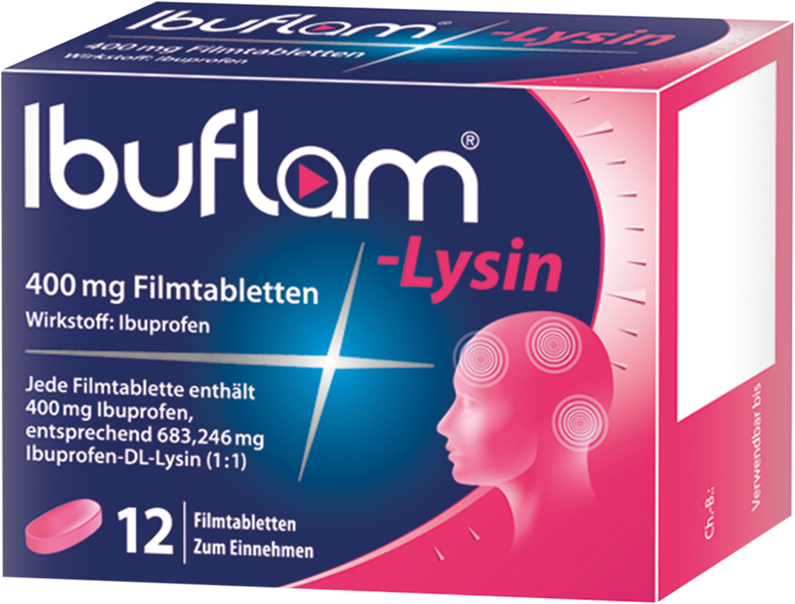 Ibuflam Lysin 400mg Filmtabletten
