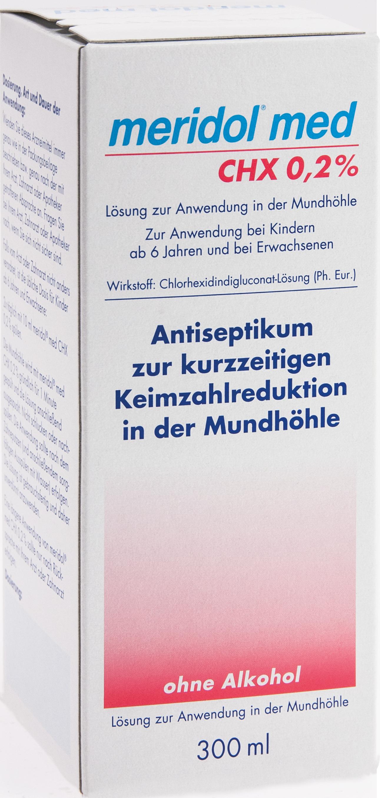 meridol med CHX 0.2% Spülung