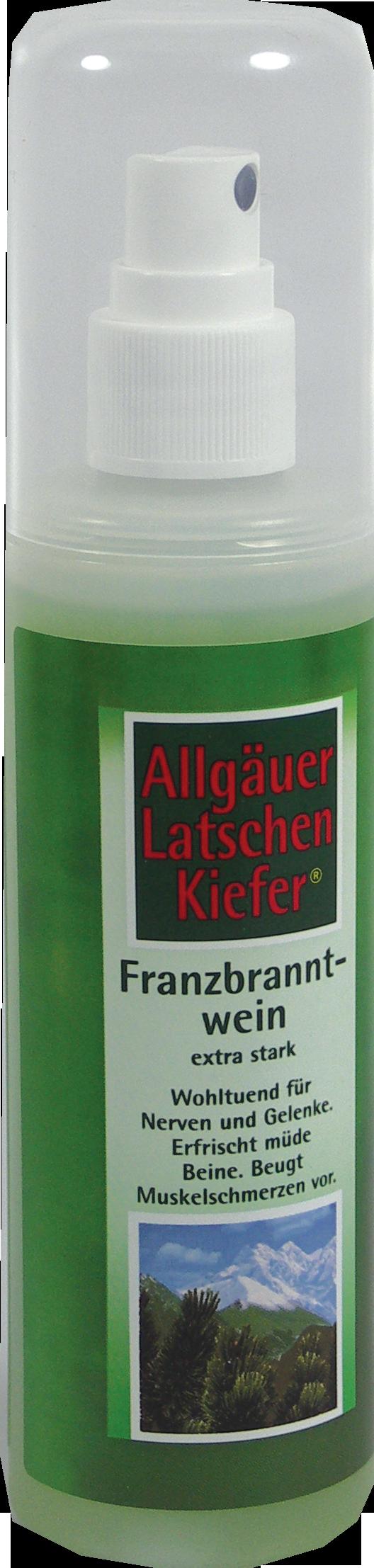 Allgäuer LK Franzbranntwein extra stark Pumpzerst.