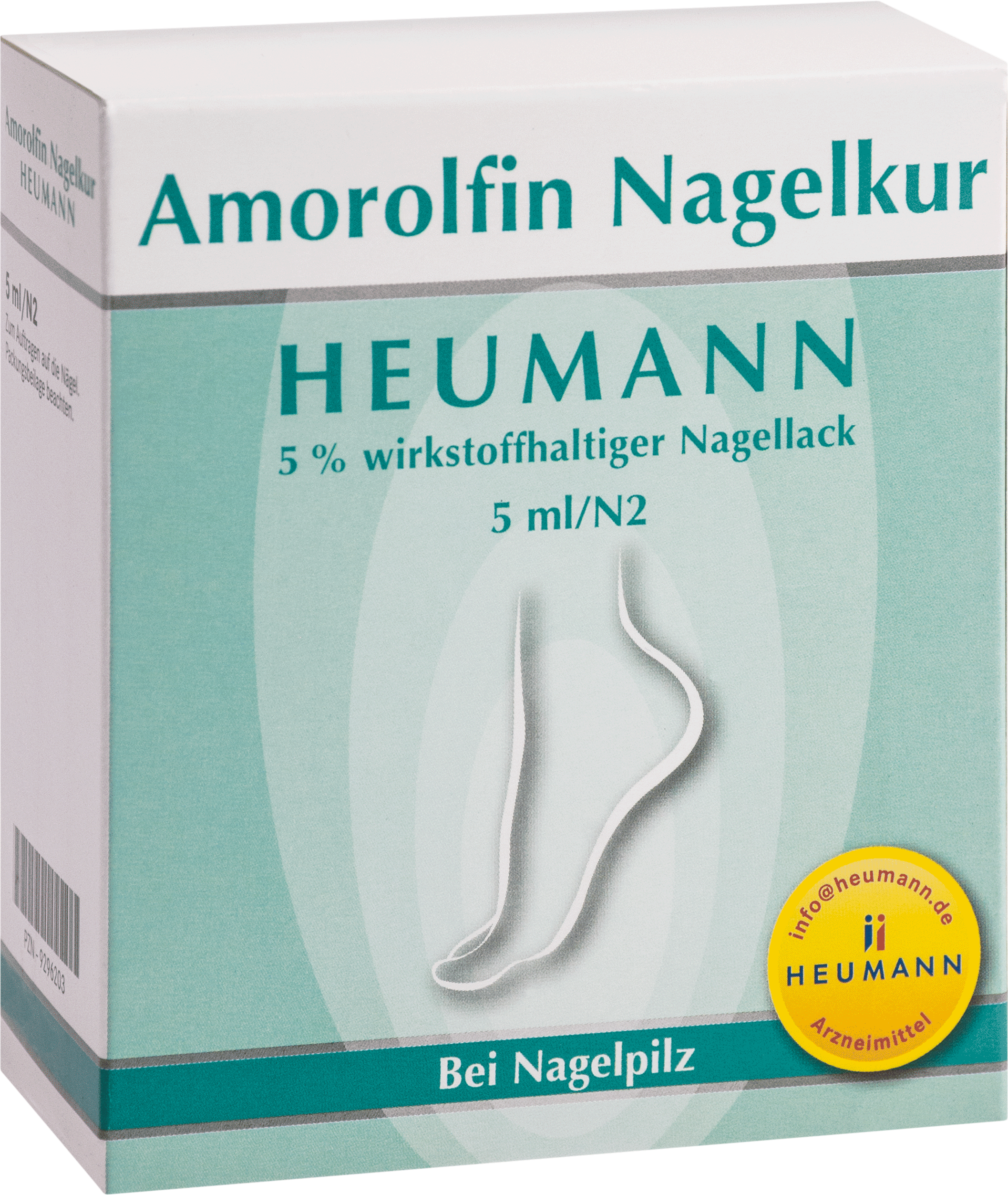 Amorolfin Nagelkur Heumann 5% wirkstoffh.Nagellack