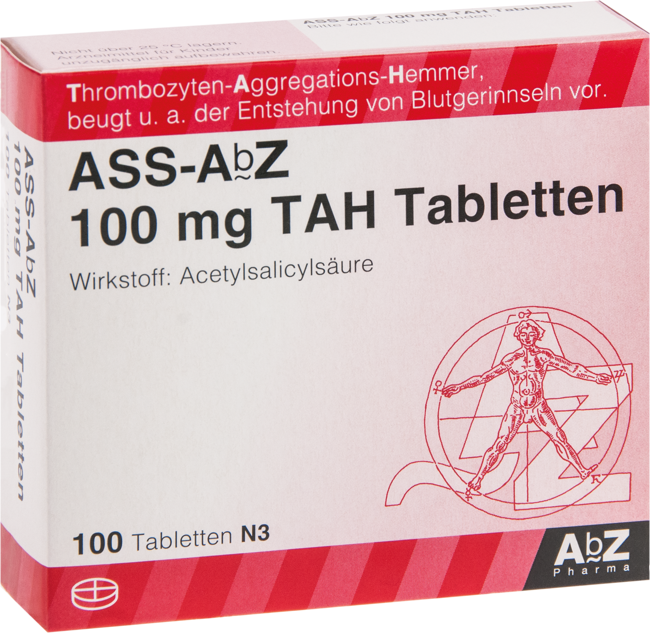 ASS-AbZ 100 mg TAH Tabletten