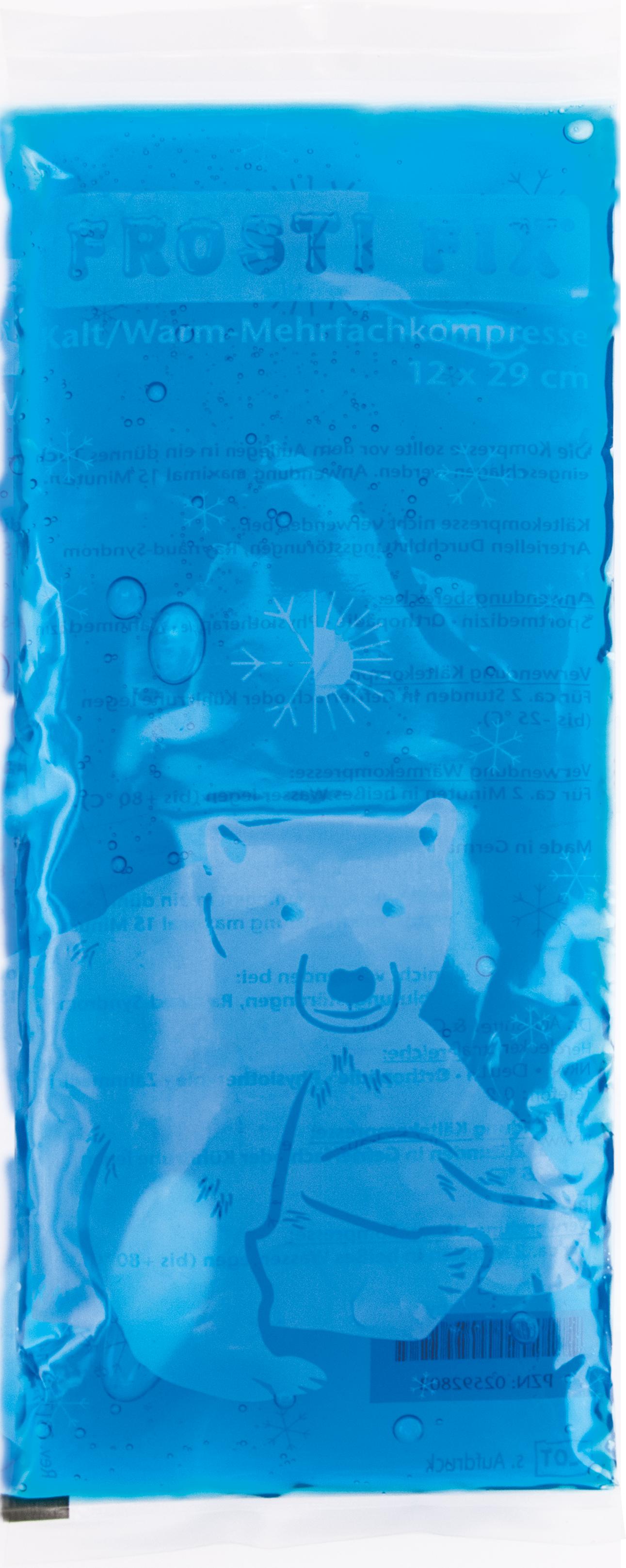 Kalt-Warm Kompresse 12x29cm blau Frosti Fix