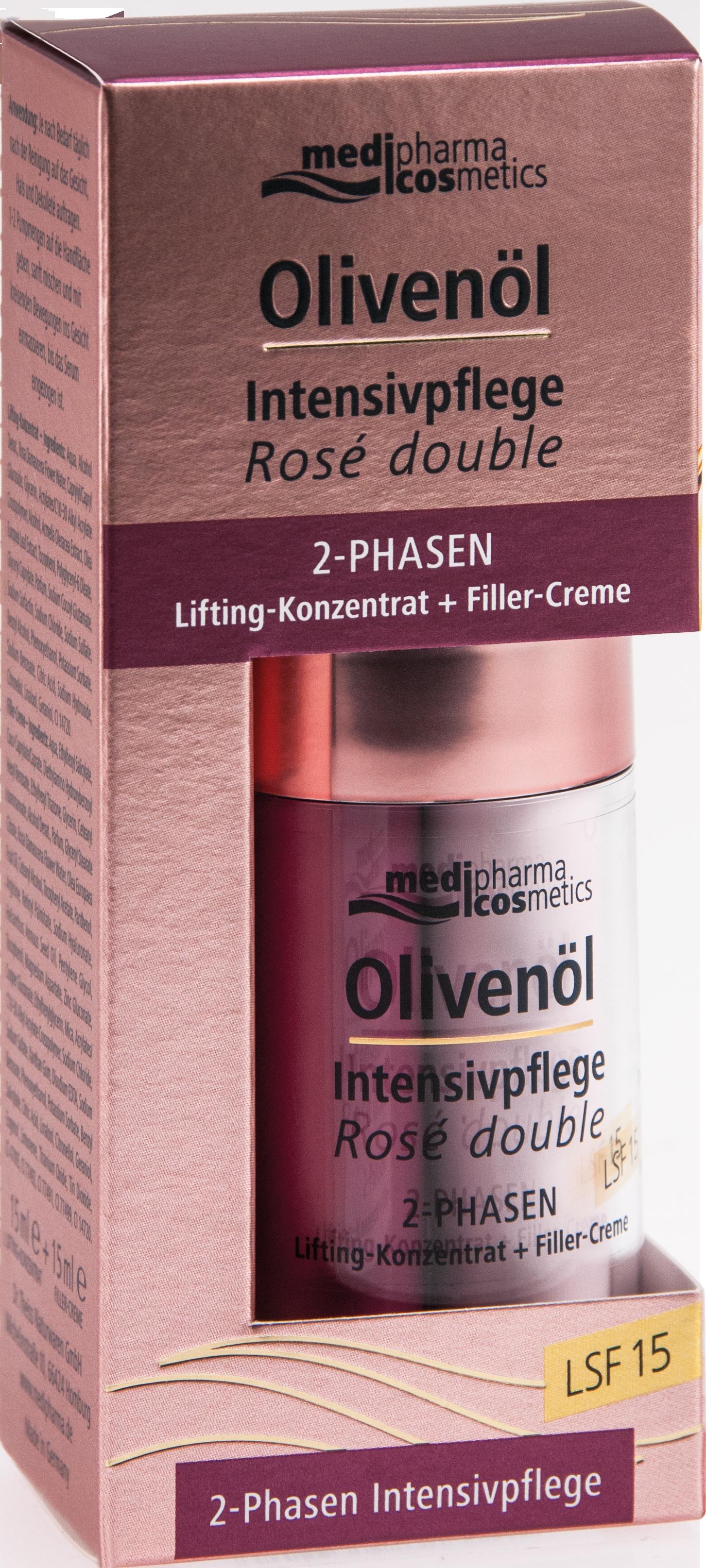 Olivenöl Intensivpflege Rose double