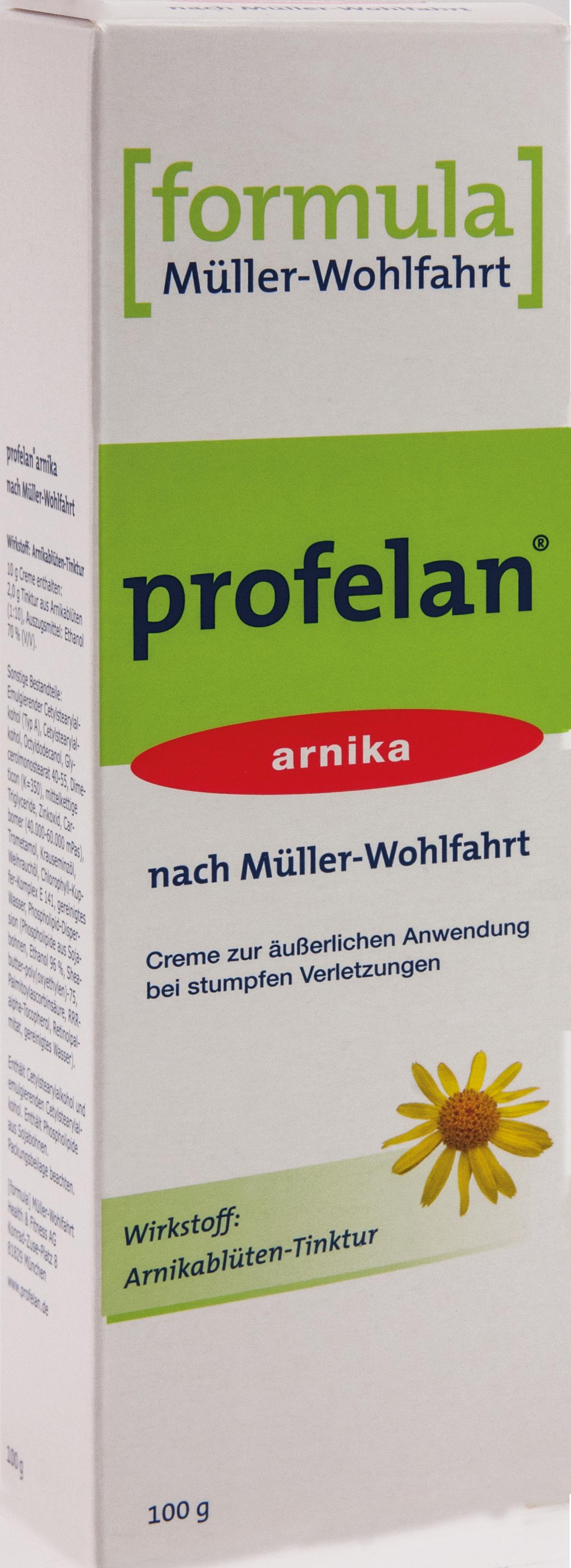 Profelan Salbe nach Müller-Wohlfahrt