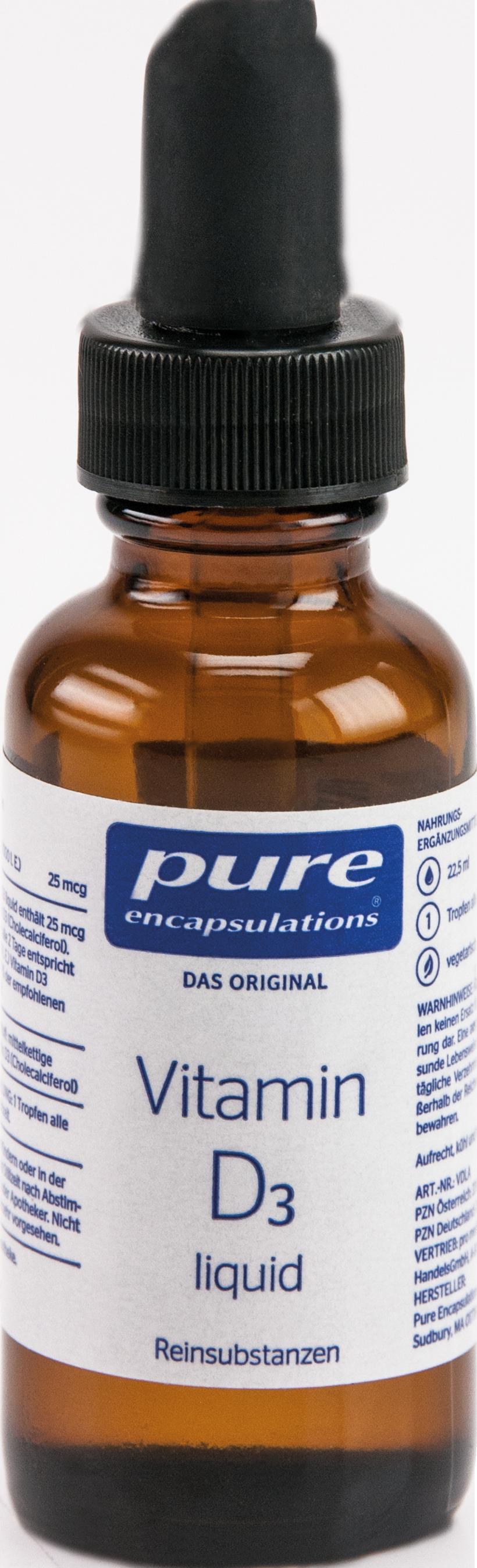 PURE ENCAPSULATIONS Vitamin D3 Liquid