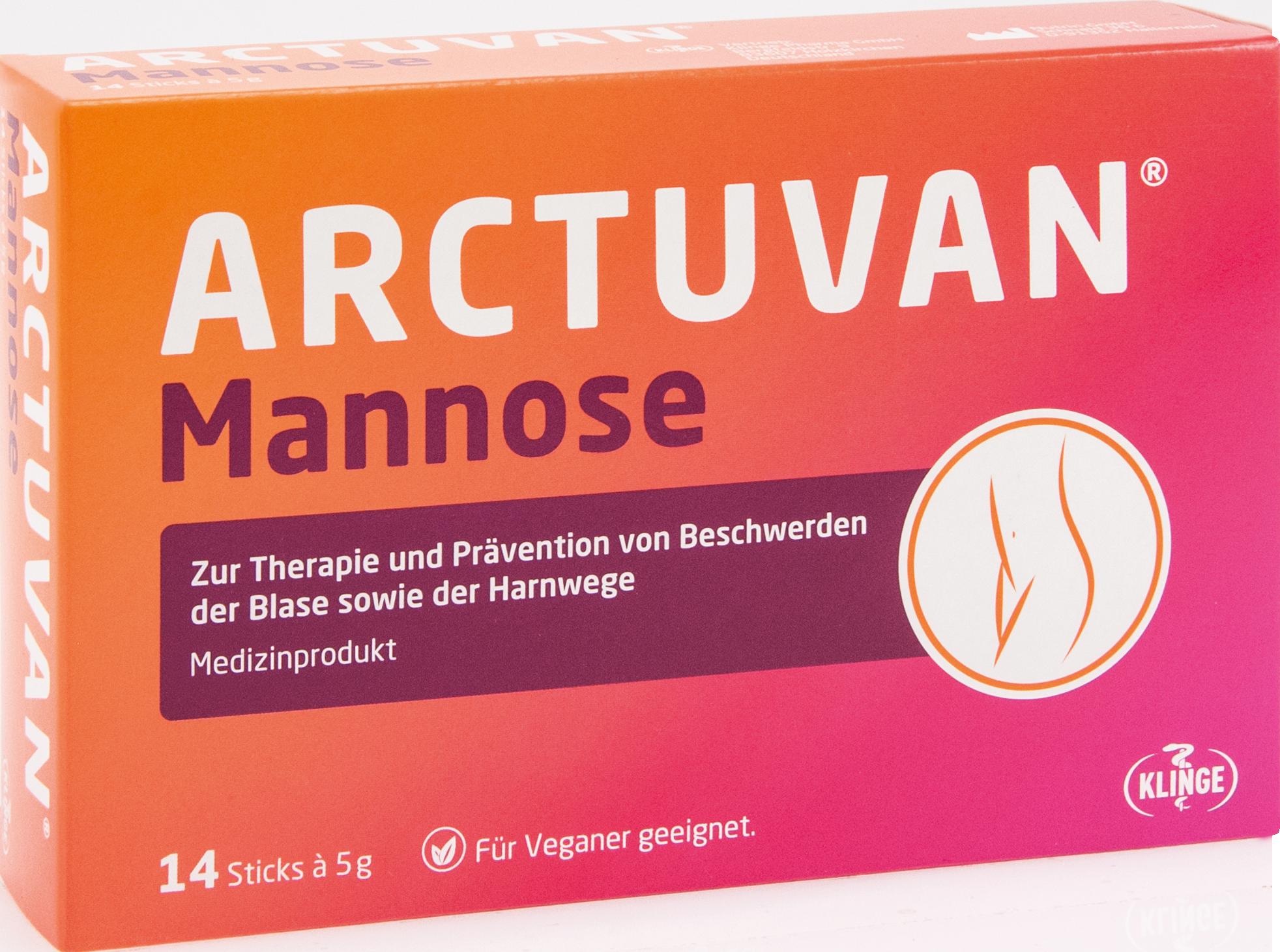 Arctuvan Mannose