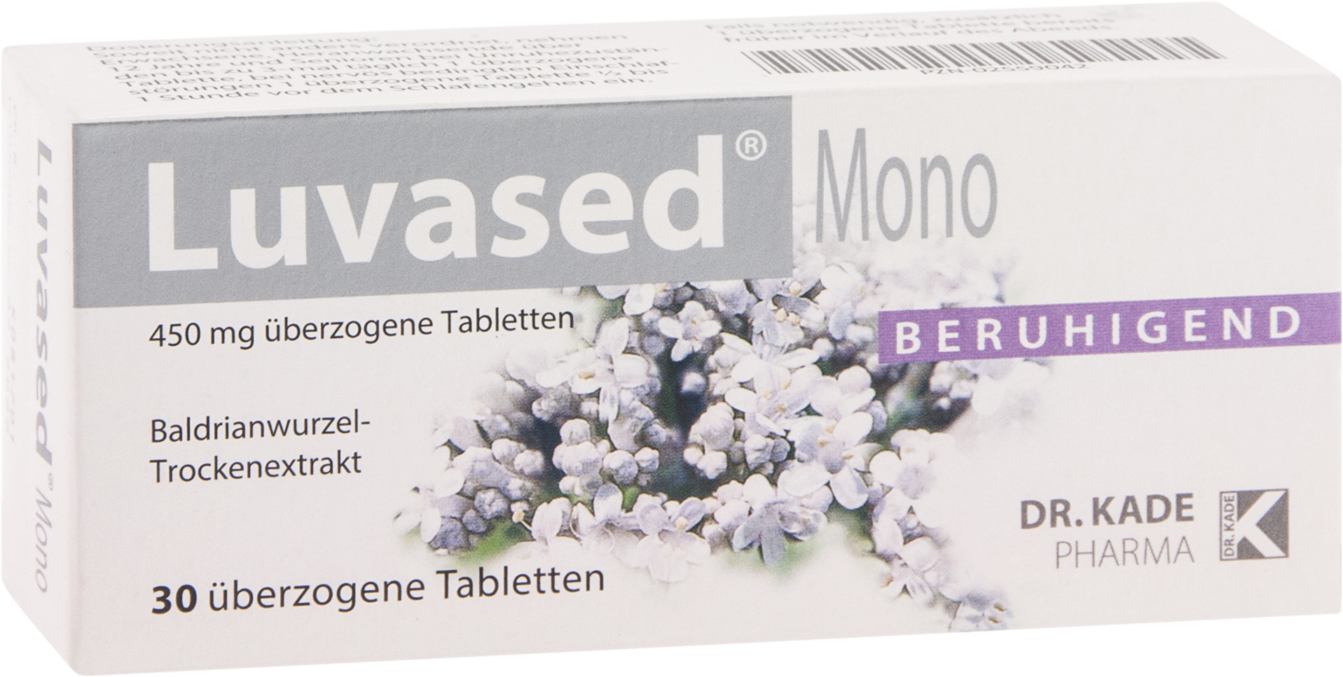 Luvased mono überzogene Tabletten