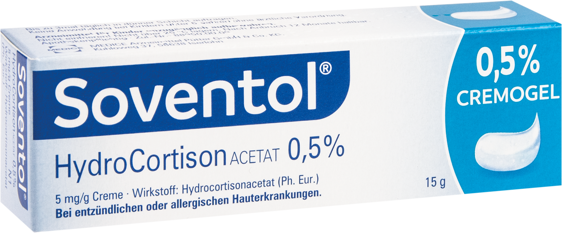 Soventol Hydrocortisonacetat 0.5%