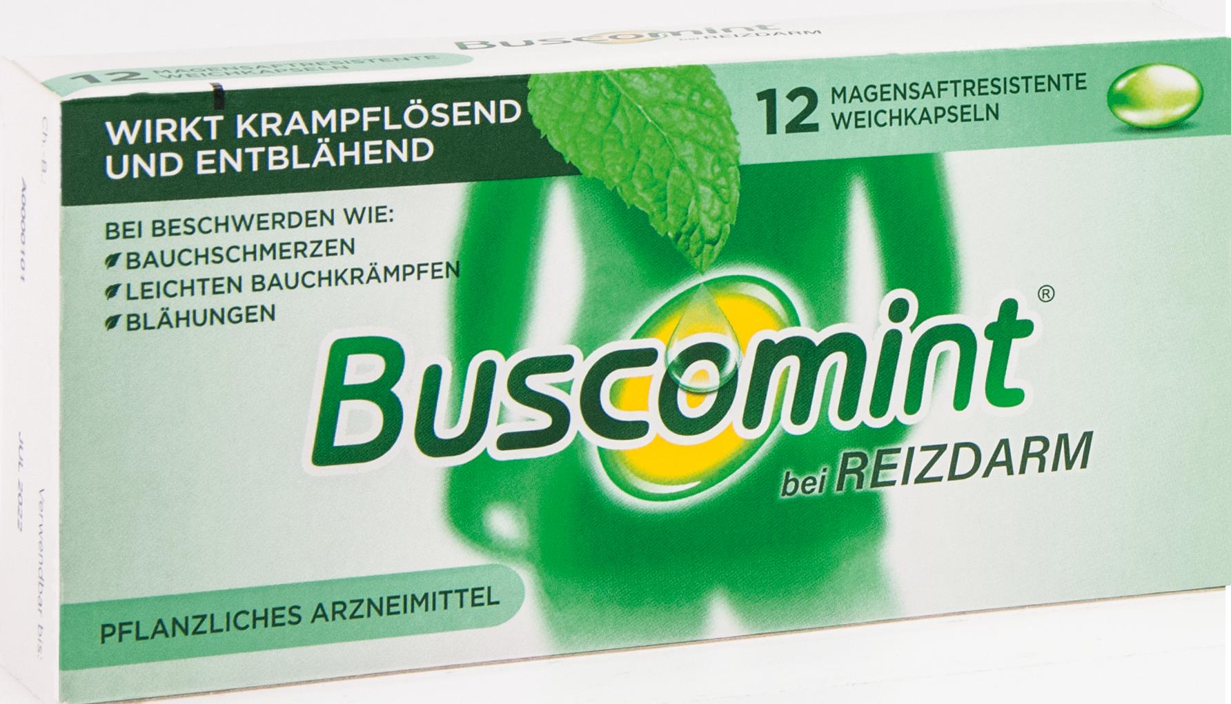 Buscomint bei Reizdarm 0.2ml