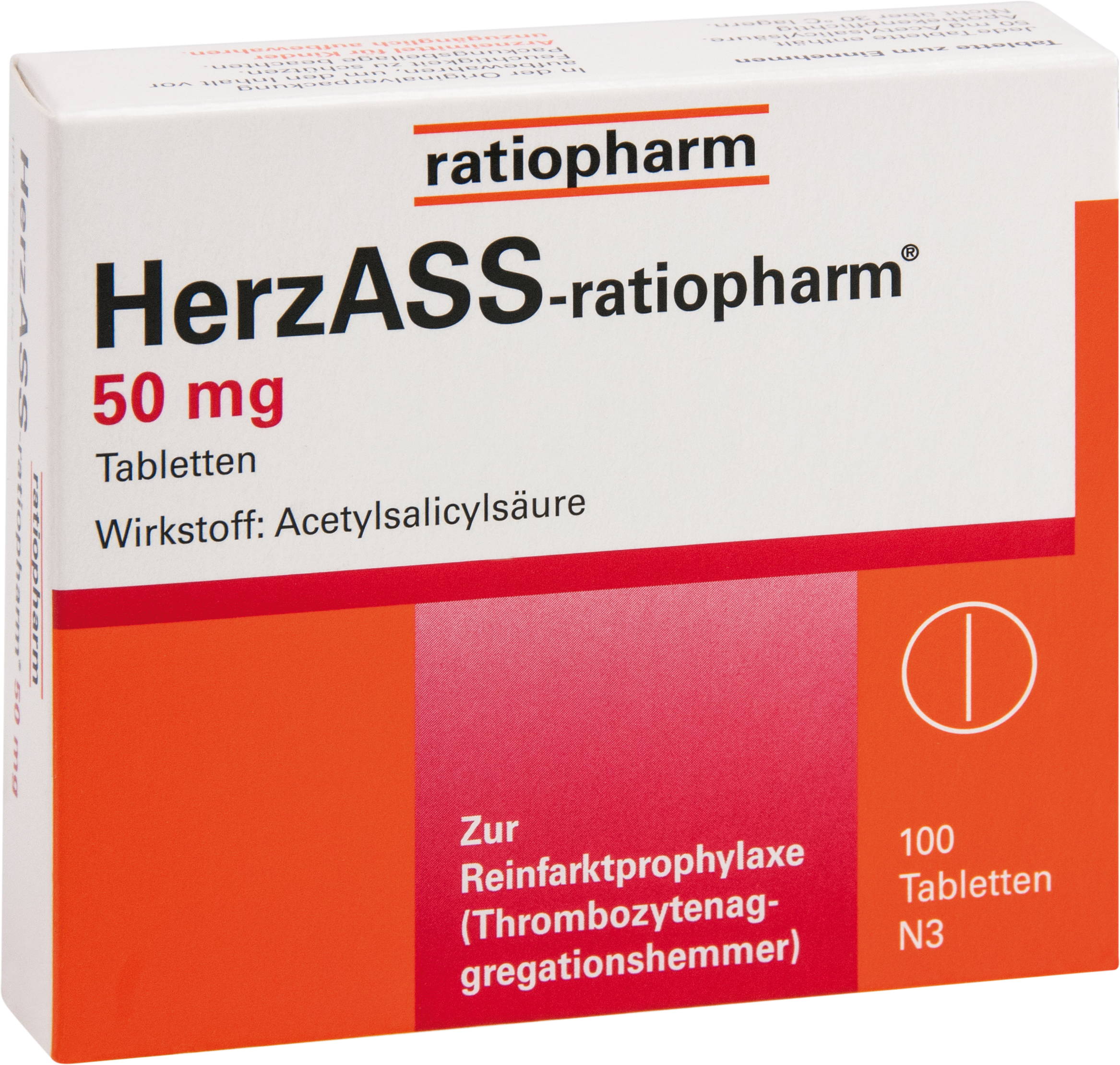 HerzASS-ratiopharm 50 mg