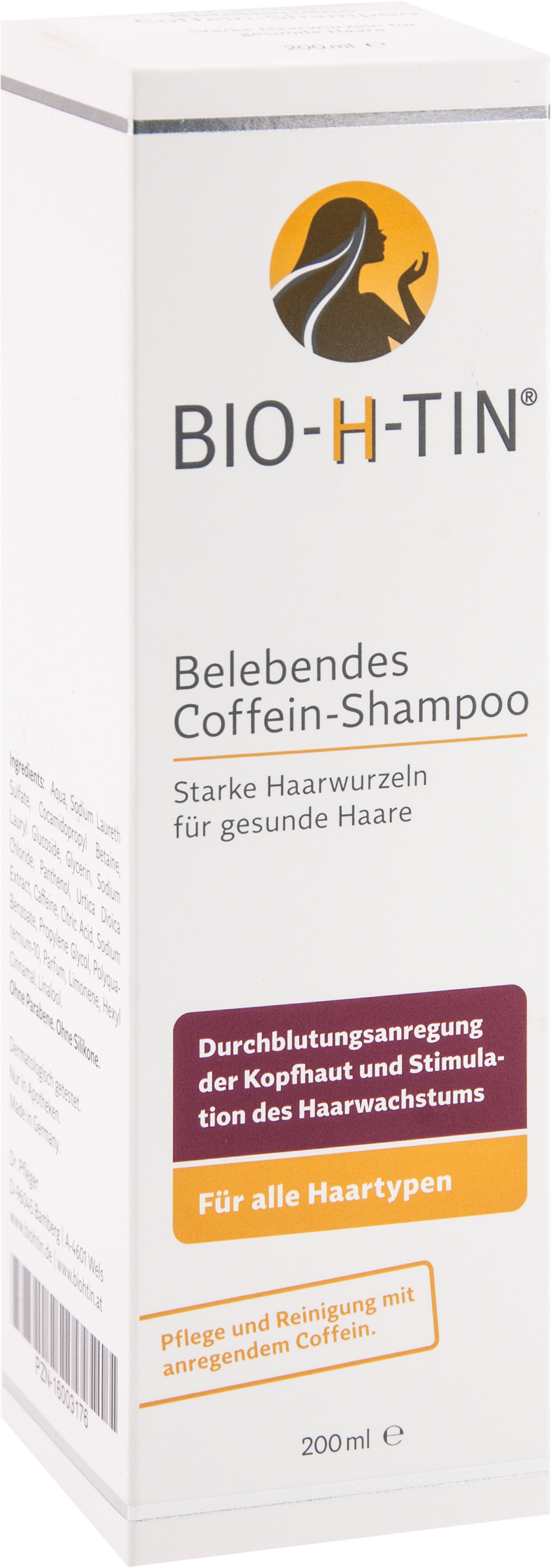 BIO-H-TIN Coffein-Shampoo