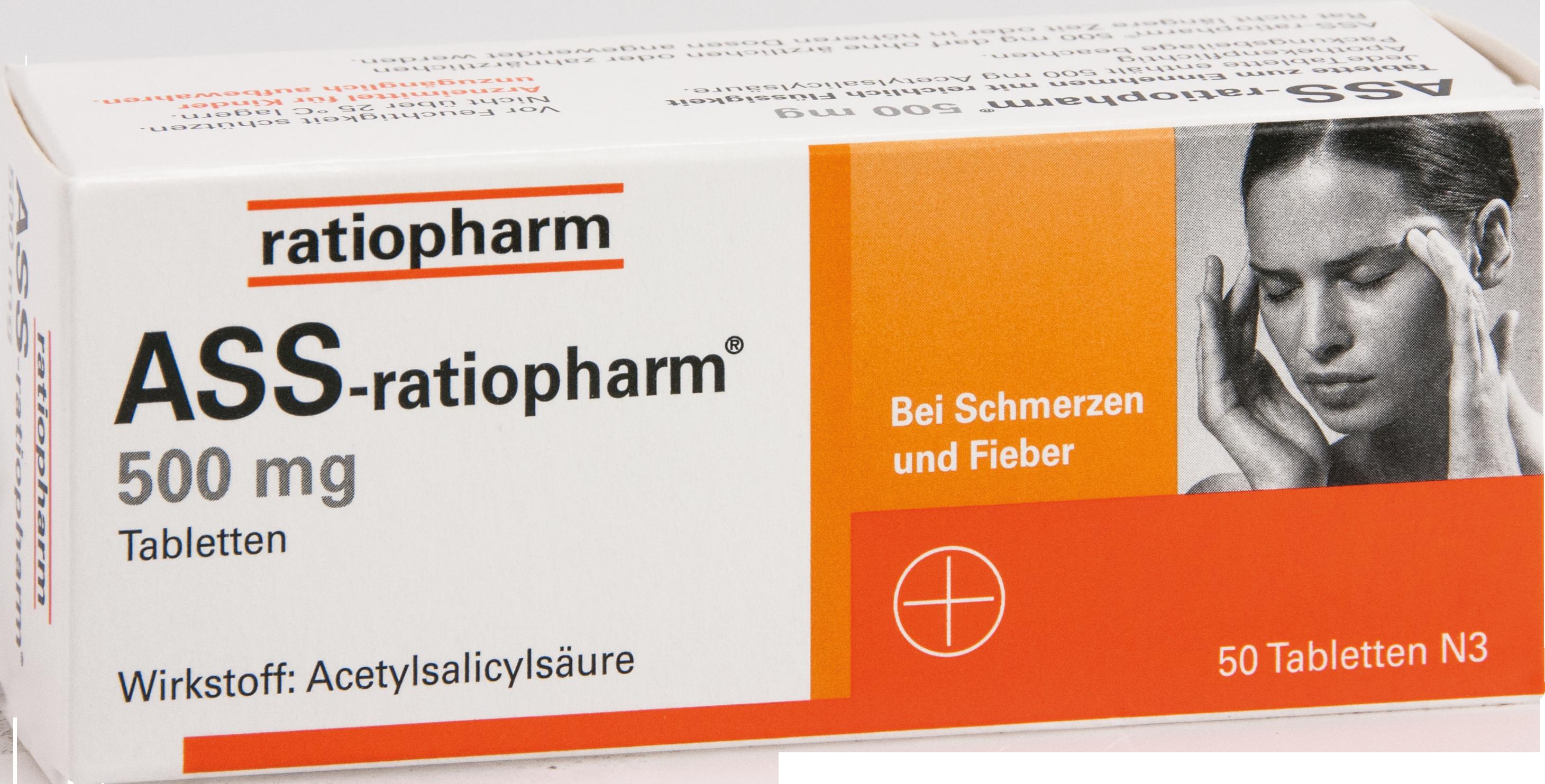 ASS-ratiopharm 500 mg