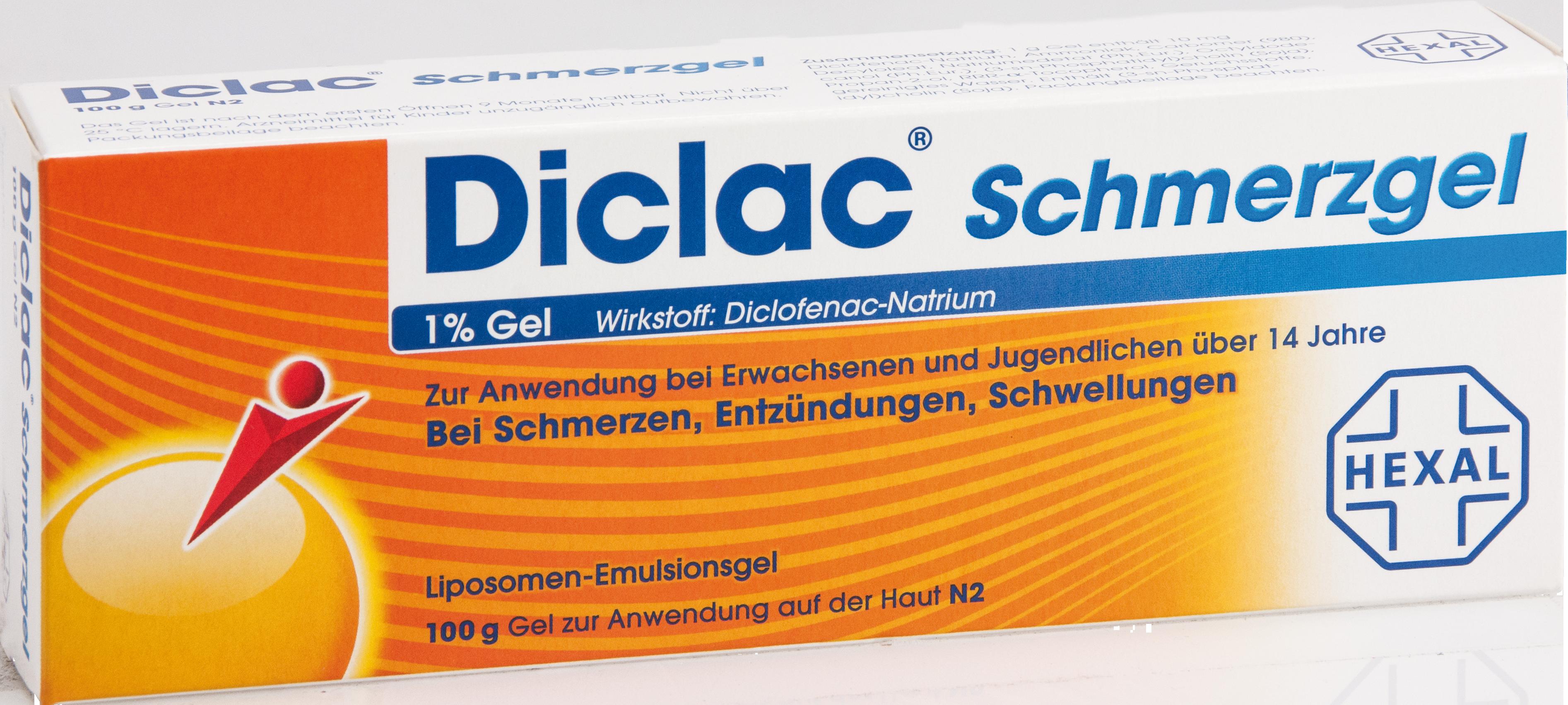 Diclac Schmerzgel 1% Gel