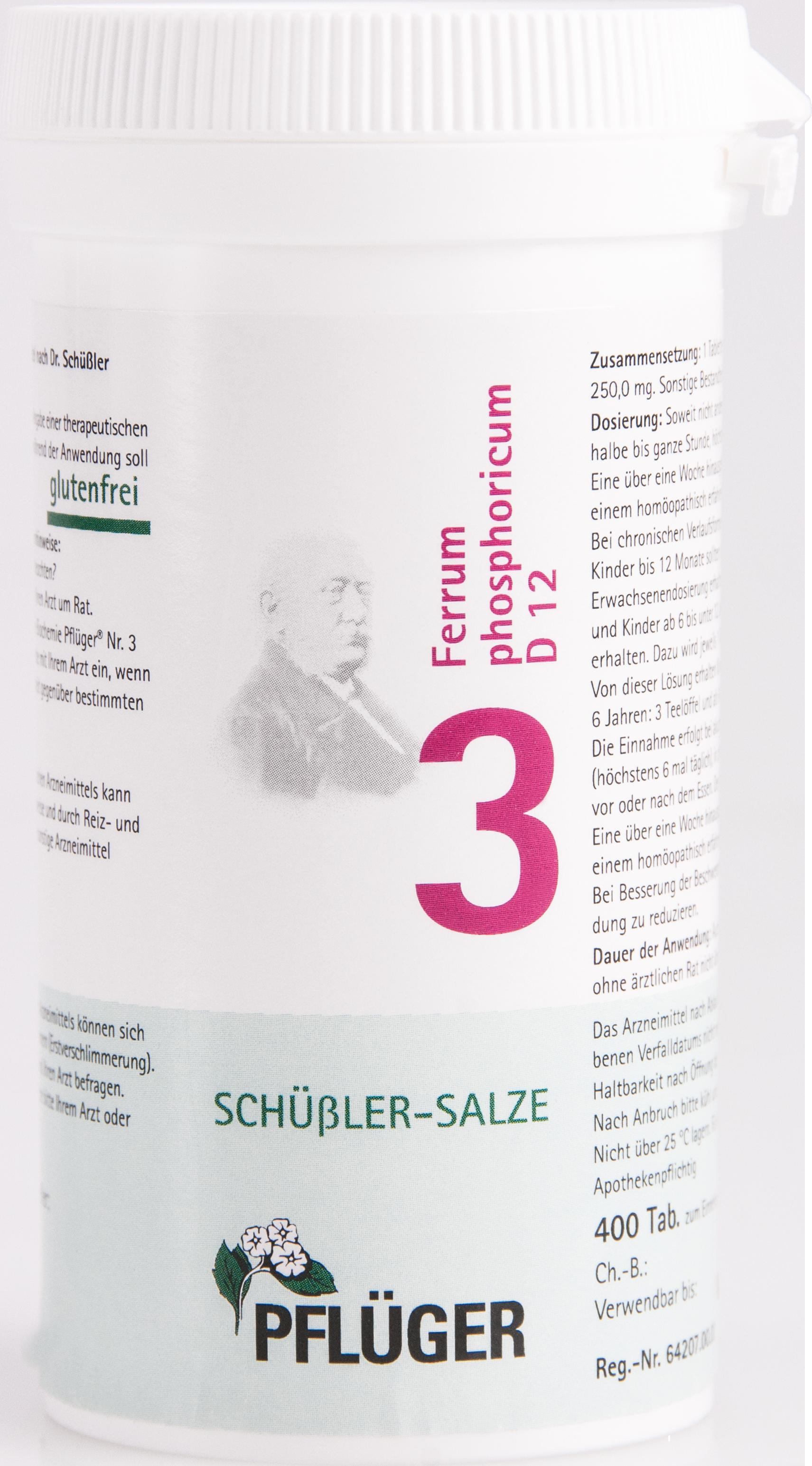 Biochemie Pflüger Nr. 3 Ferrum phosphoricum D 12
