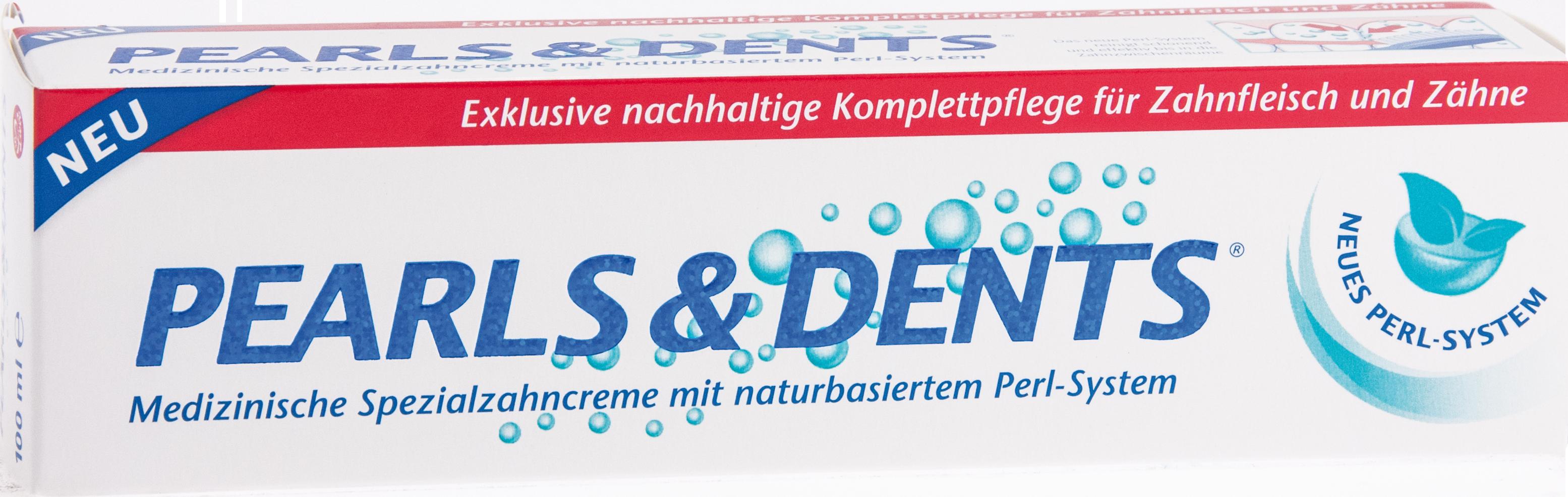 Pearls & Dents Spezialzahncreme m.nat. Perlsystem