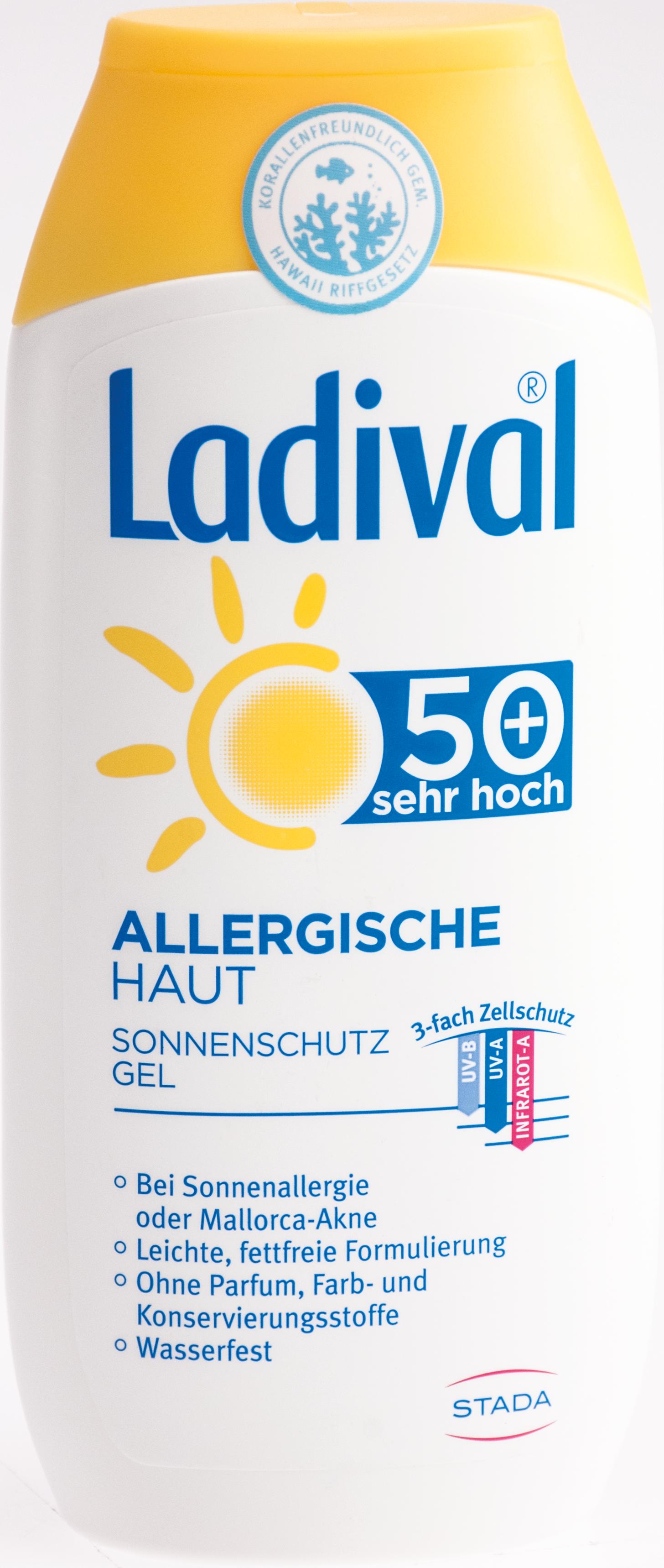 Ladival allerg. Haut Gel LSF50+