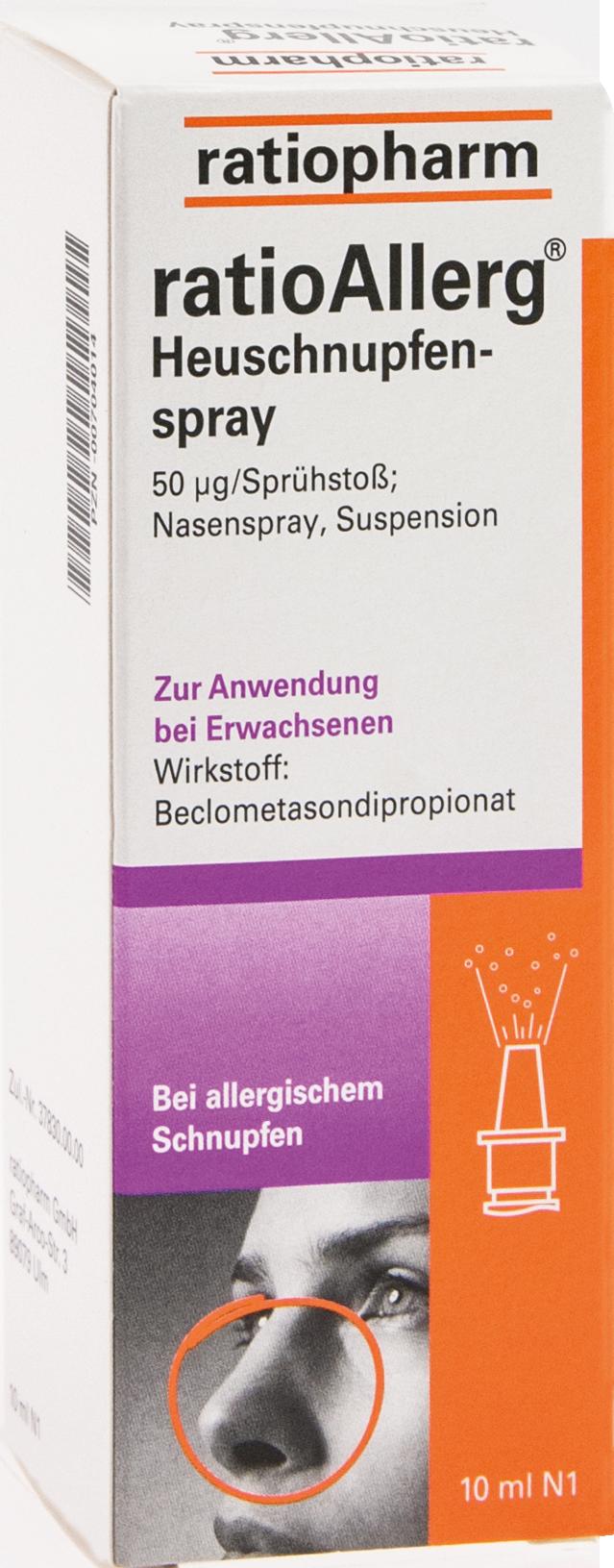 ratioAllerg Heuschnupfenspray