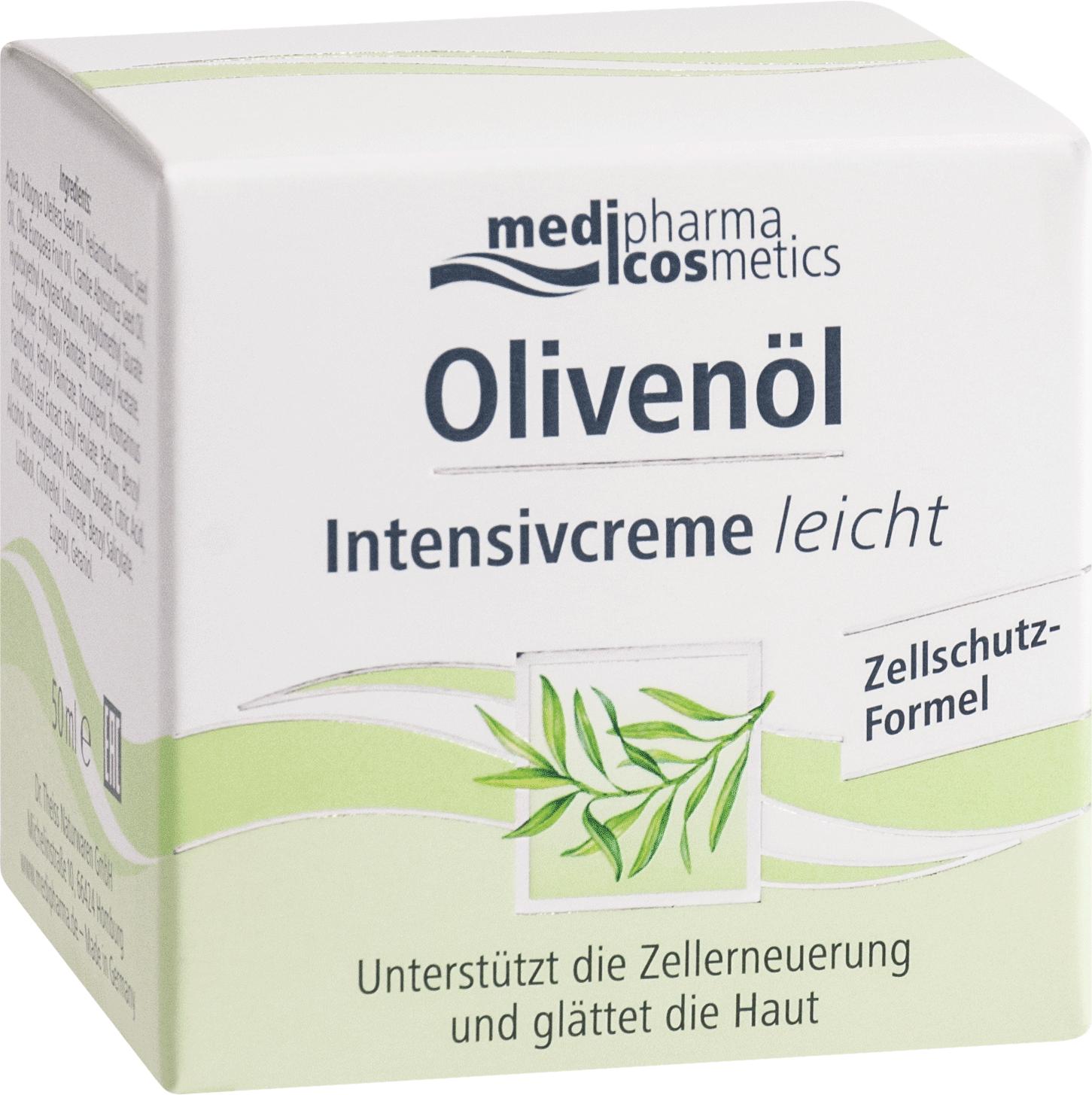 Olivenöl Intensivcreme leicht