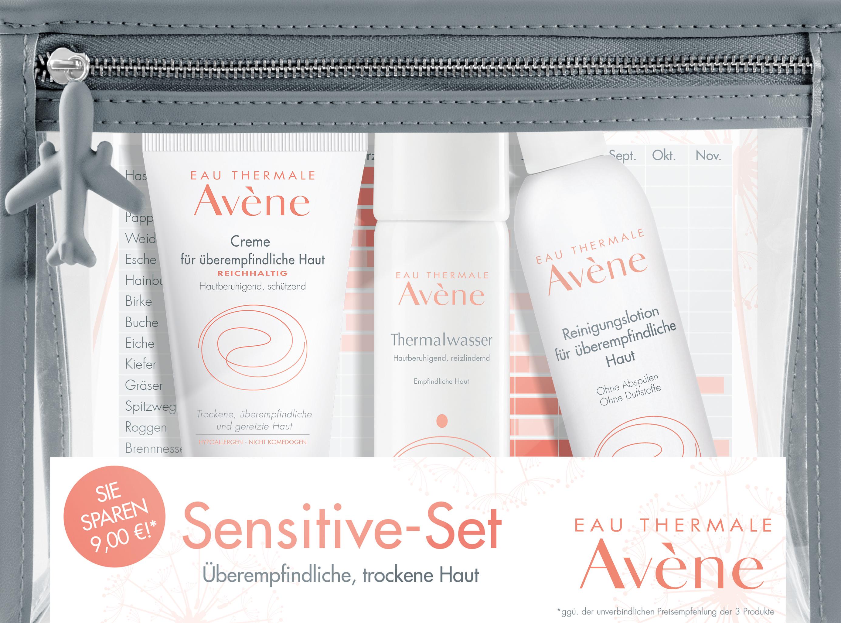 Avene Sensitive-Set reichhaltig
