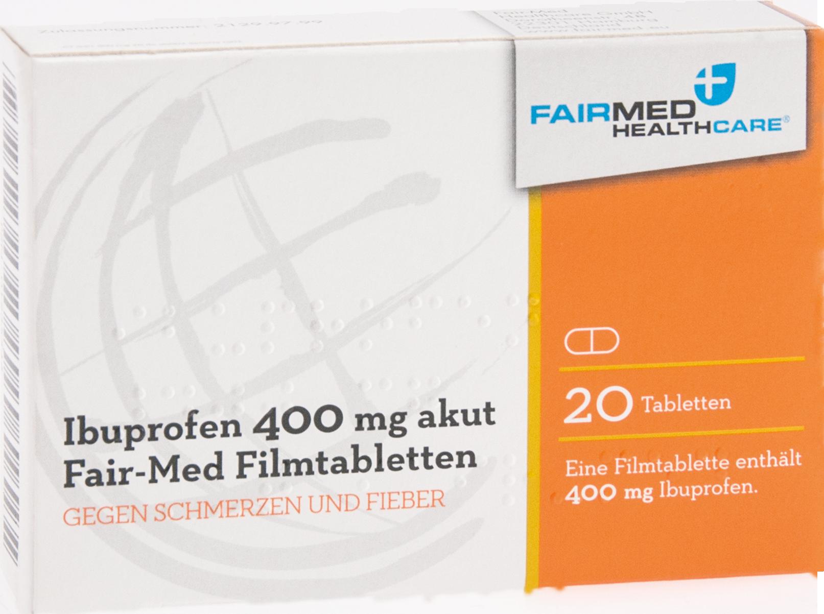 Ibuprofen 400mg akut Fair-Med Healthcare