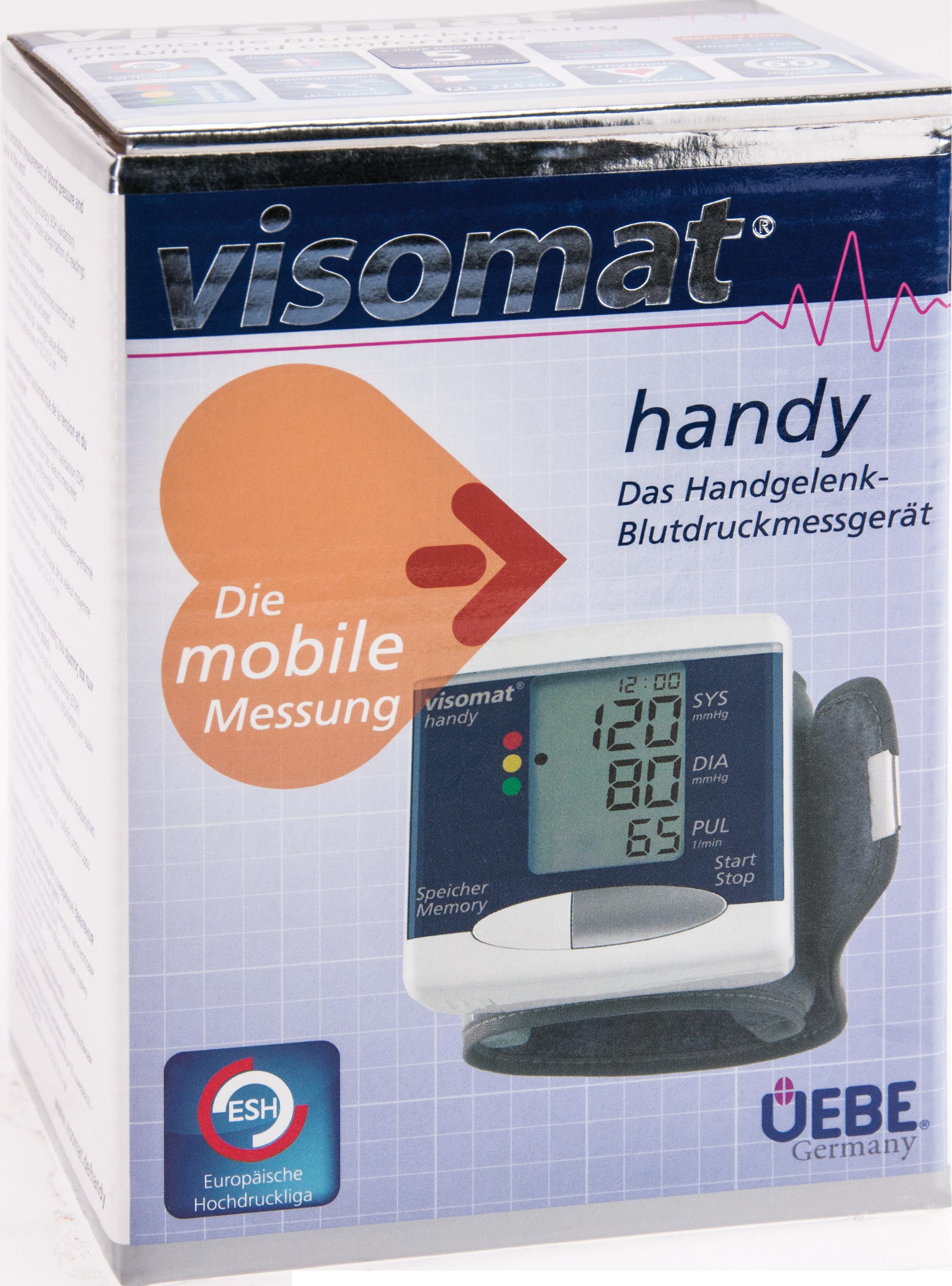 visomat handy Handgelenk Blutdruckmessgeraet