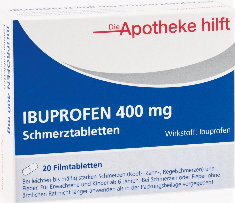 Ibuprofen 400 mg Die Apotheke hilft