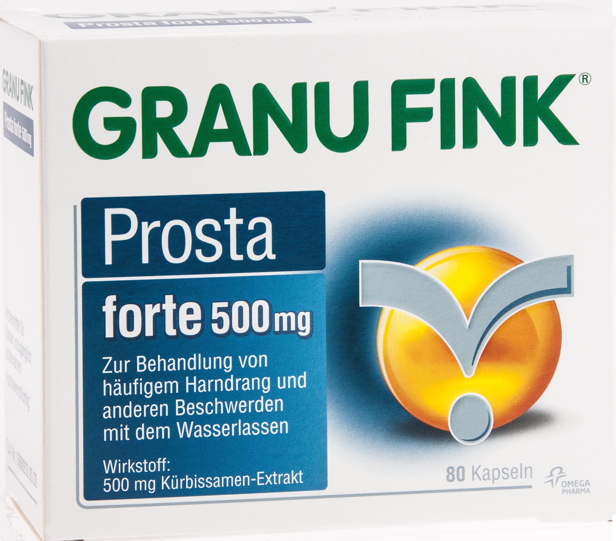 GRANU FINK Prosta forte 500 mg