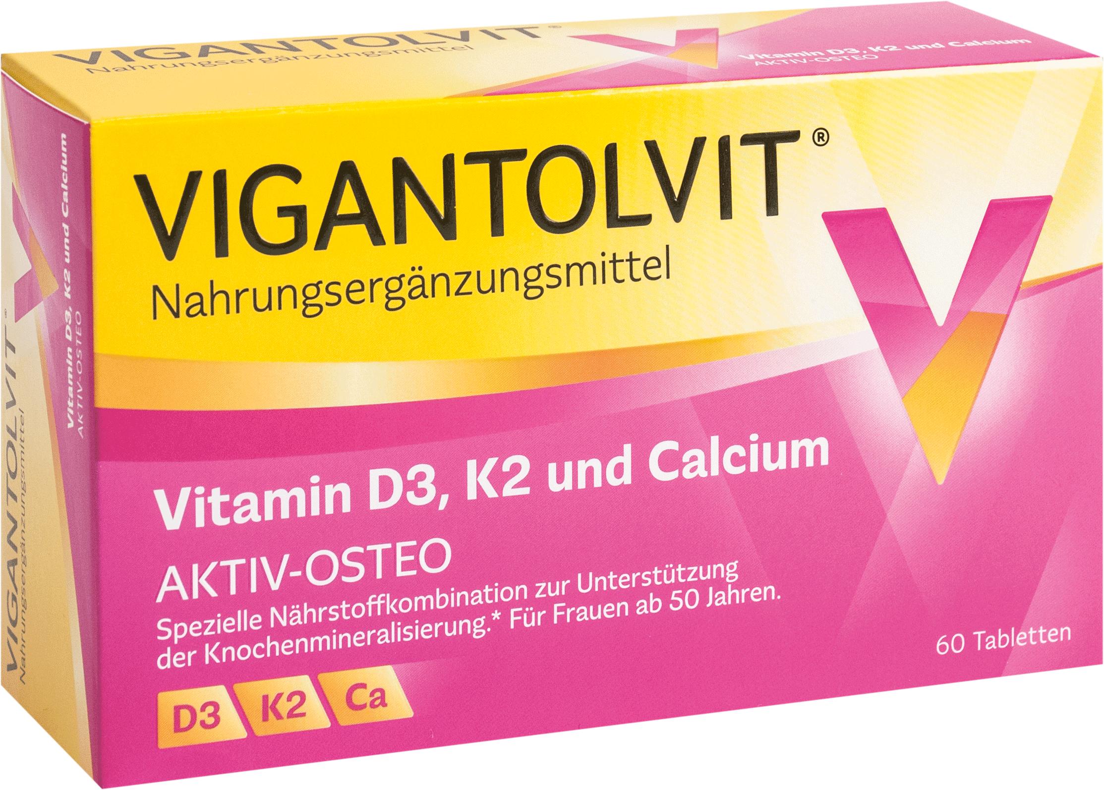 Vigantolvit Vitamin D3 K2 Calcium