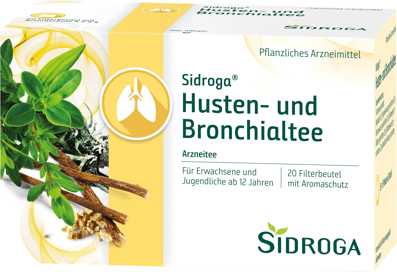 Sidroga Husten-und Bronchialtee
