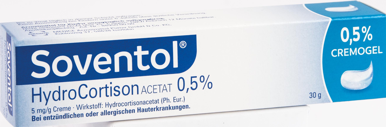 Soventol Hydrocortisonacetat 0.5%