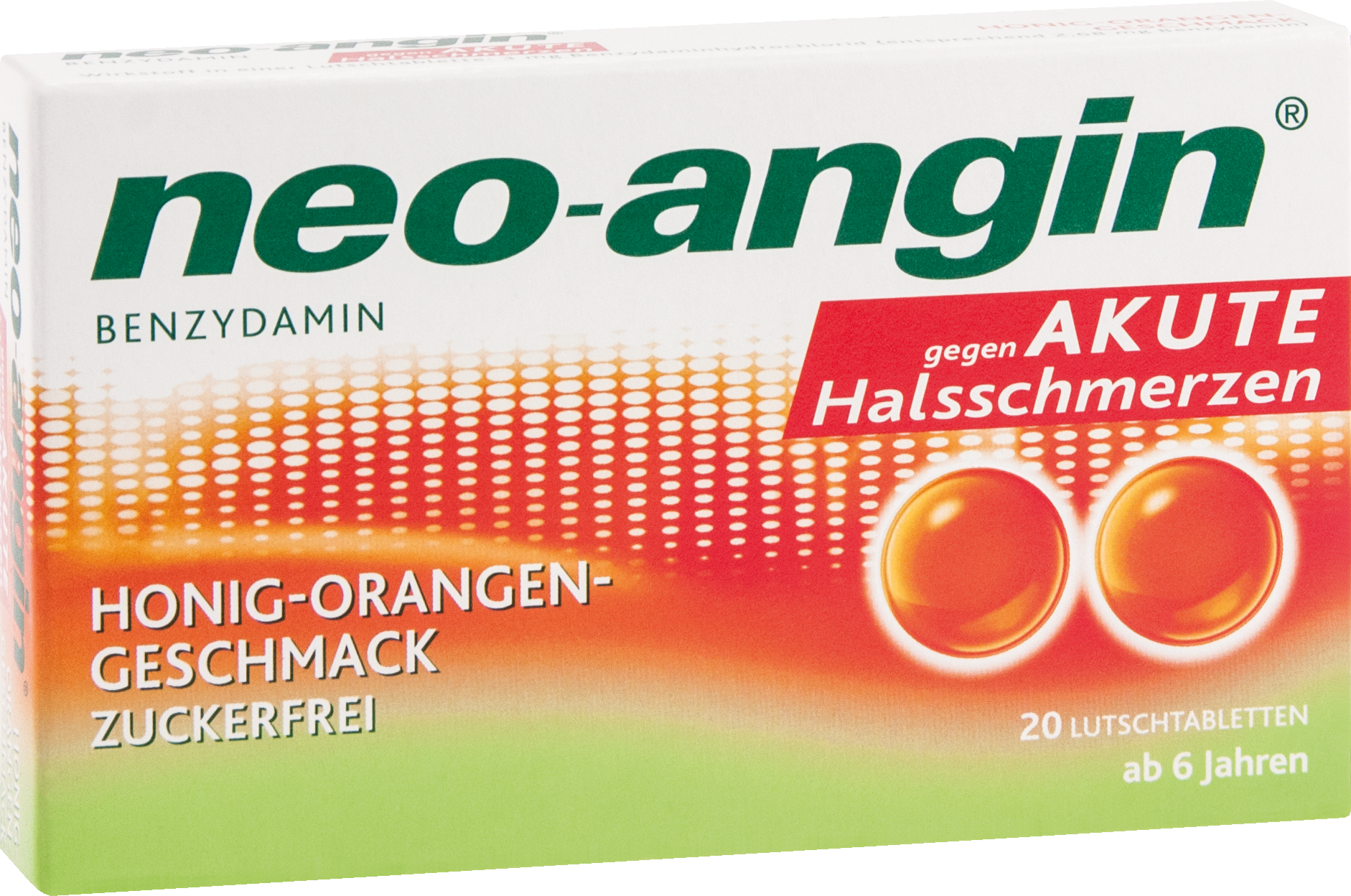 neo-angin Benzydamin akute Halsschmerz Honig-Orang