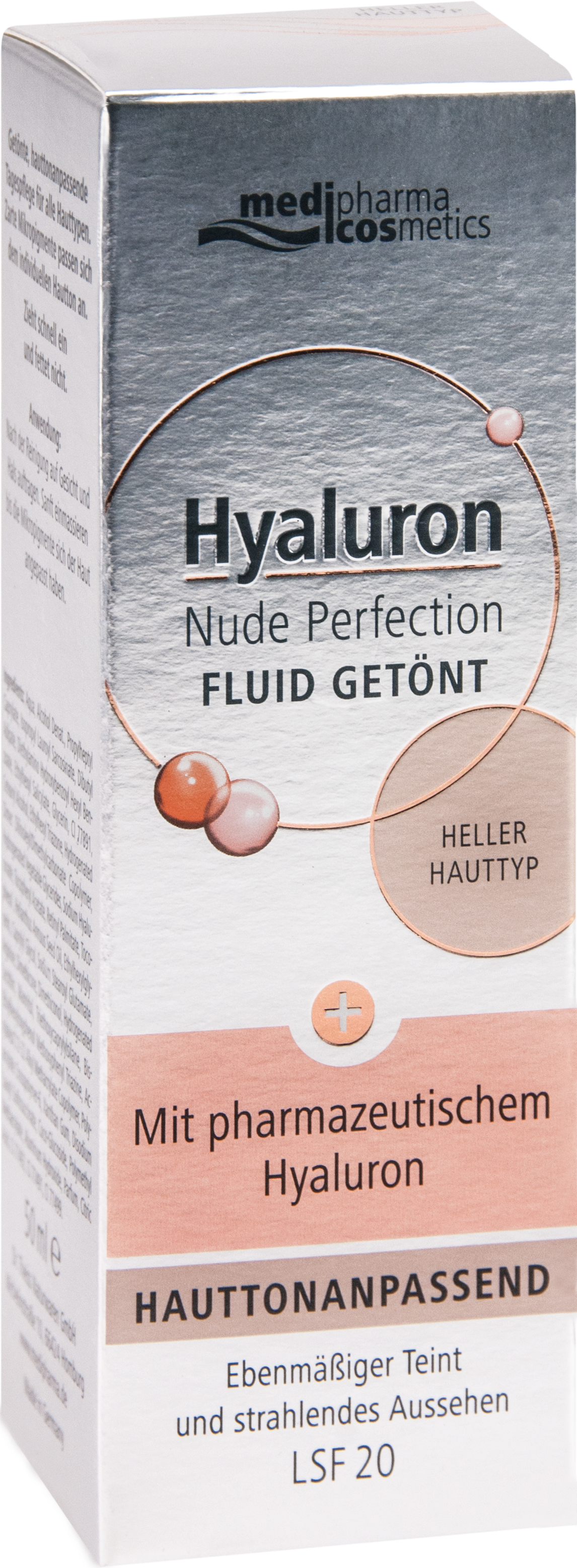 Hyaluron Nude Perfection Fluid getönt heller HTL20