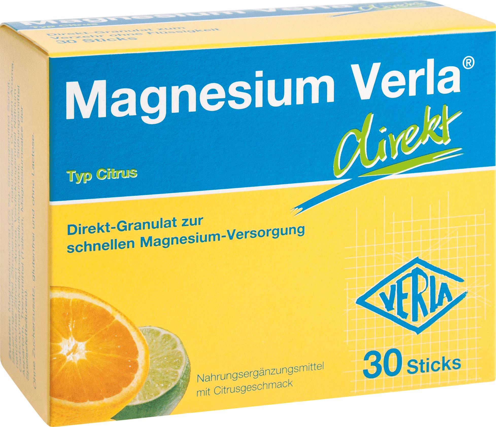 Magnesium Verla direkt Citrus