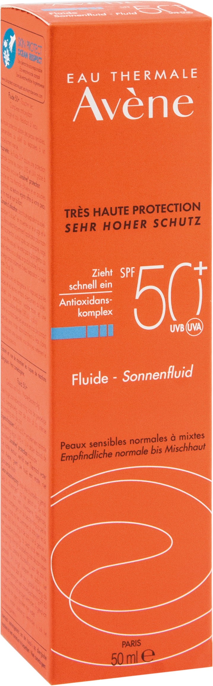 AVENE SunSitive Sonnenfluid SPF 50+