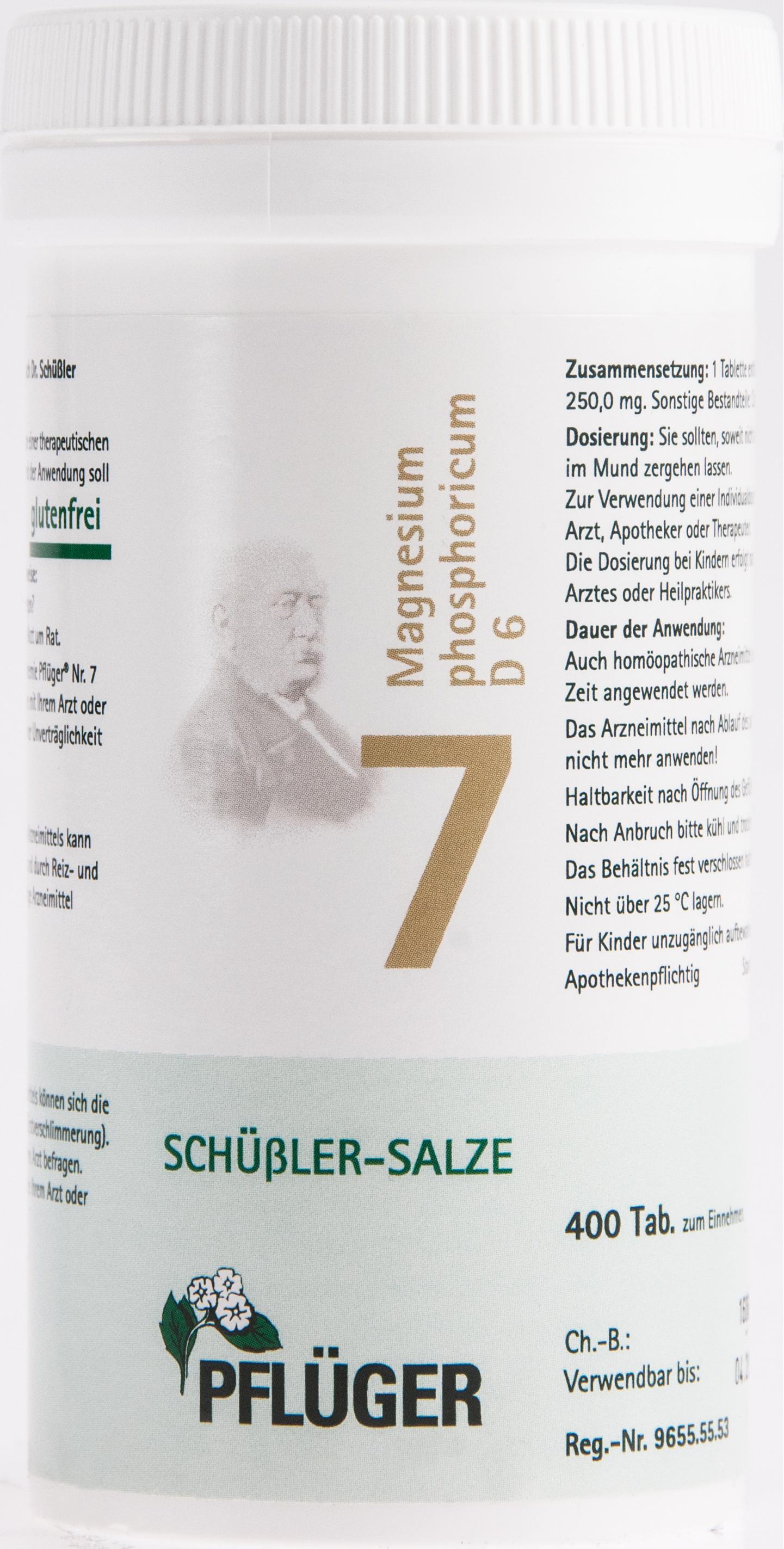 Biochemie Pflüger Nr. 7 Magnesium phosphoricum D 6