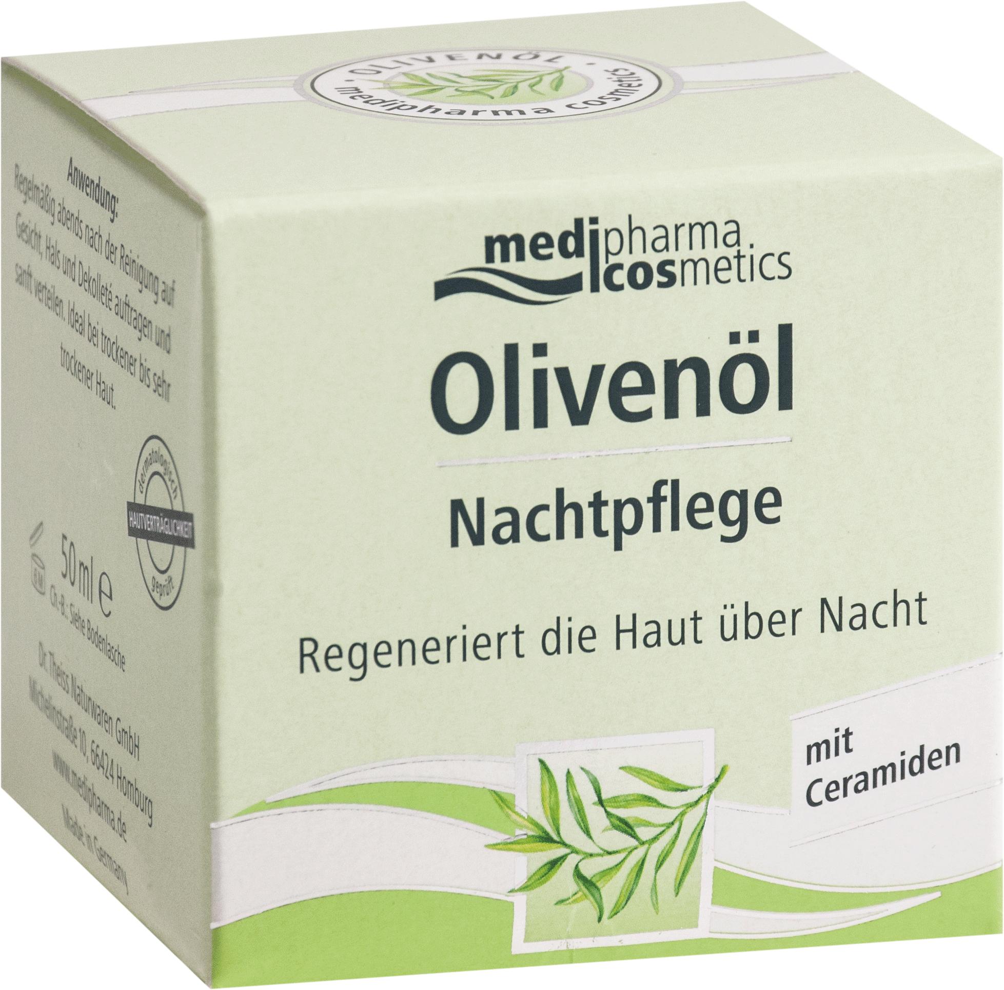 Olivenöl Nachtpflege