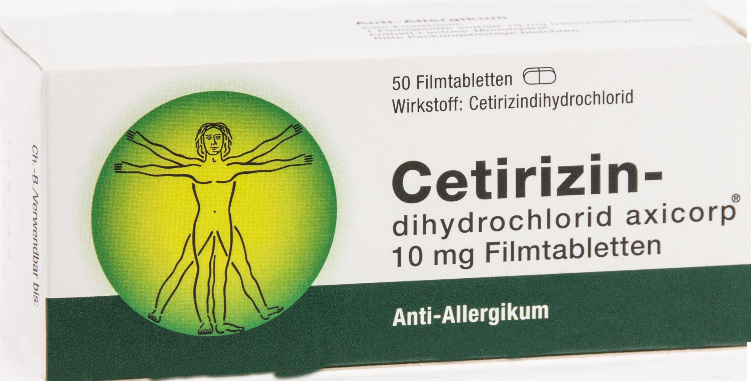 Cetirizindihydrochlorid axicorp 10mg