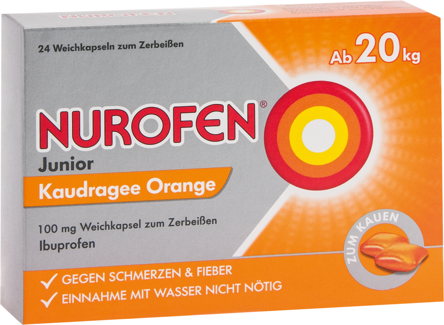Nurofen Junior Kaudragee Orange 100mg