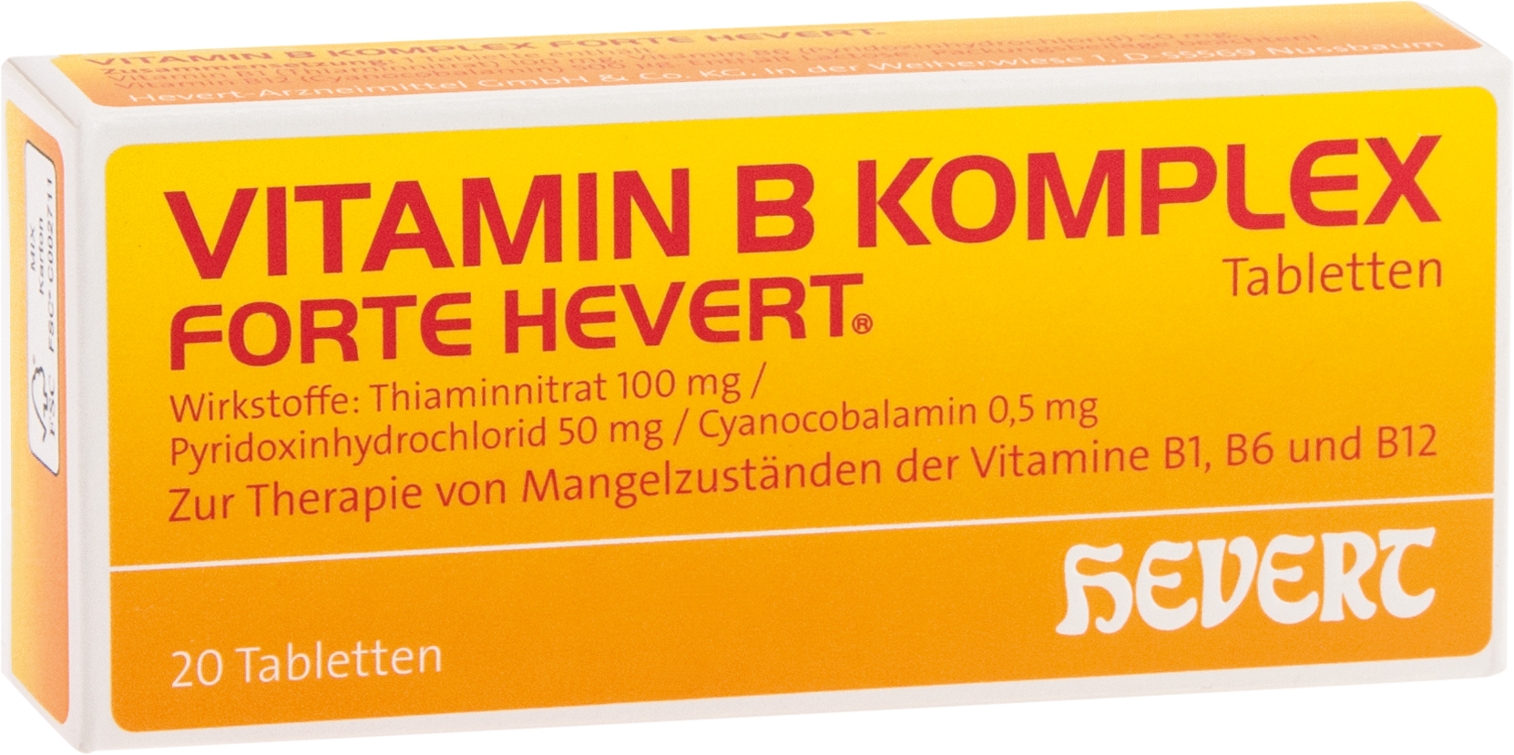 Vitamin B-Komplex forte Hevert