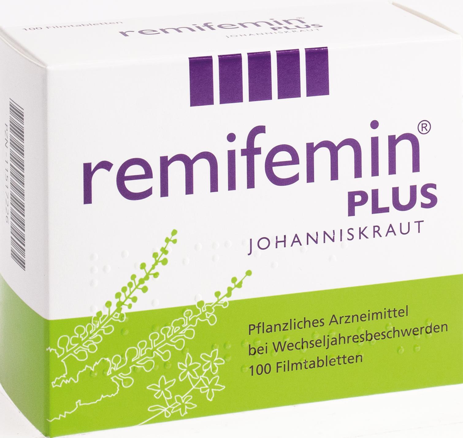 Remifemin plus Johanniskraut