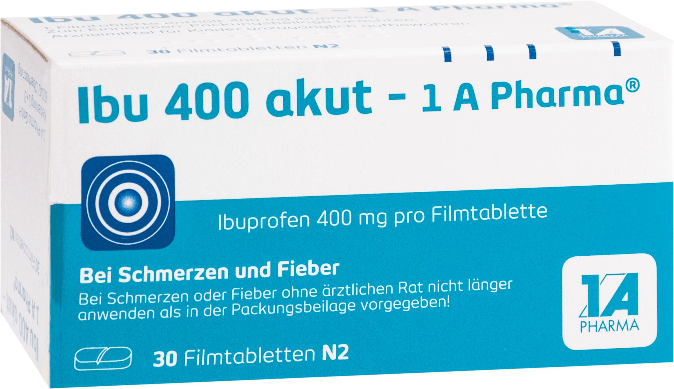 Ibu 400 akut - 1A-Pharma